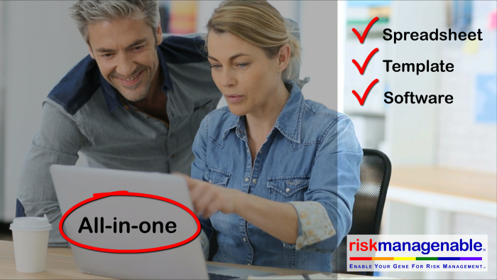 Risk Template Software in Excel with Risk Workbook and Risk Software: All-In-One!