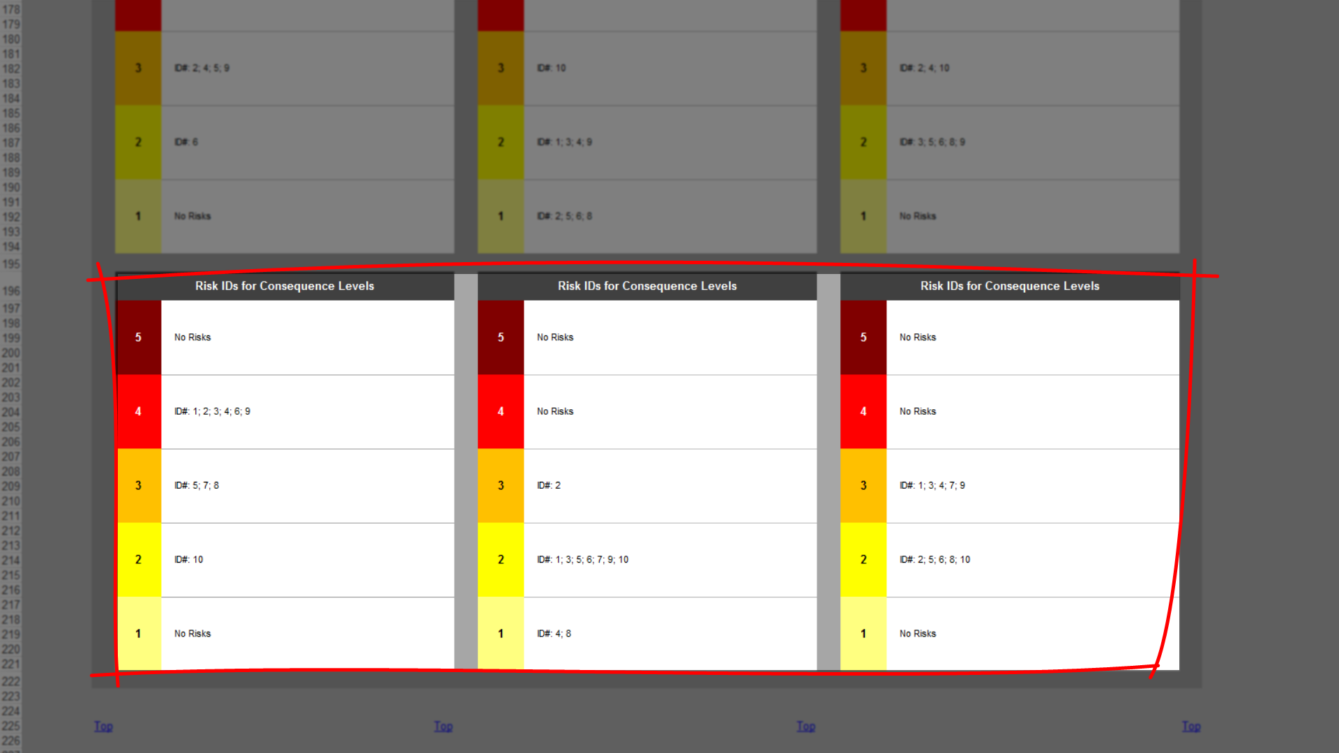 risk template in excel training overview risk matrix tab. Black Bedroom Furniture Sets. Home Design Ideas